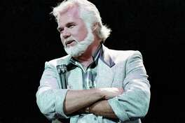 Kenny Rogers at the Houston Summit, Oct. 24, 1987.