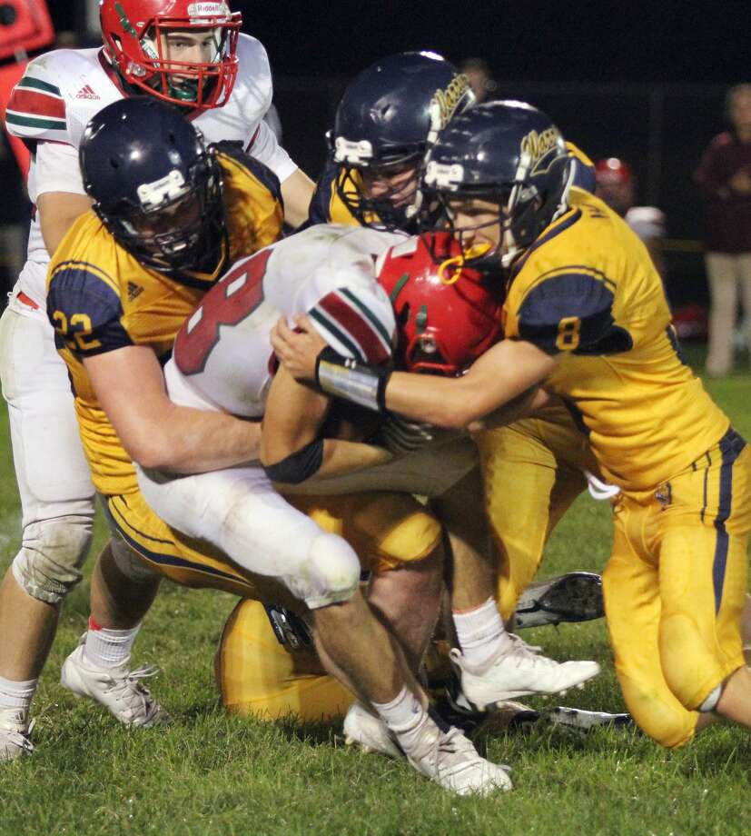 Sacred Heart 41, North Huron 20 Photo: Mike Gallagher/Huron Daily Tribune