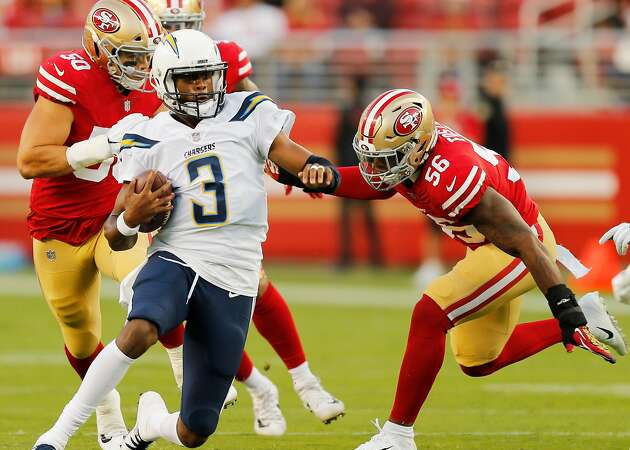 49ers' Foster, Thomas stand out in loss to Chargers in preseason finale