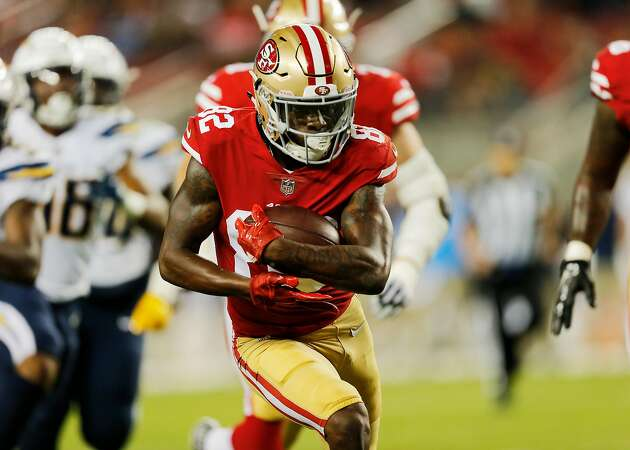 49ers WR James makes convincing case to make roster
