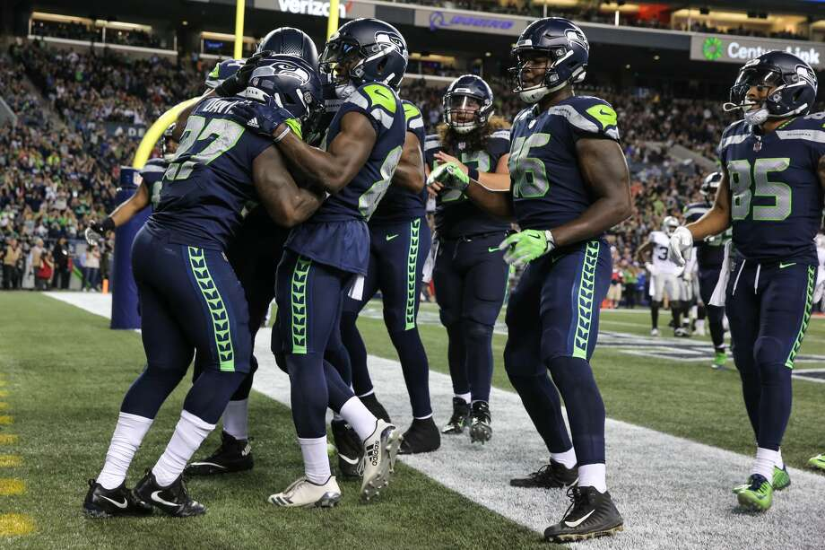 Click through the following slideshow for a projection of the Seahawks' 53-man roster. Photo: Genna Martin, SeattlePI