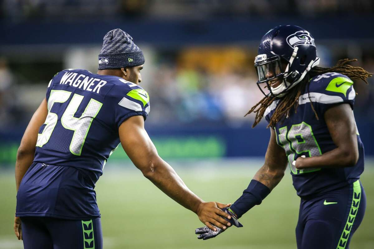 LINEBACKERS  Bobby Wagner is arguably the best middle linebacker in football. K.J. Wright is a Pro-Bowl caliber player. But the story here is rookie Shaquem Griffin.  Griffin, a fifth-round selection out of Central Florida, has been one of the biggest stories in the NFL; the league's first one-handed player is on verge of a significant role with the Seahawks. He's the expected starter at weakside linebacker as long as Wright is out. And he earned it -- not because of his story.  Griffin recorded 24 tackles in the preseason.