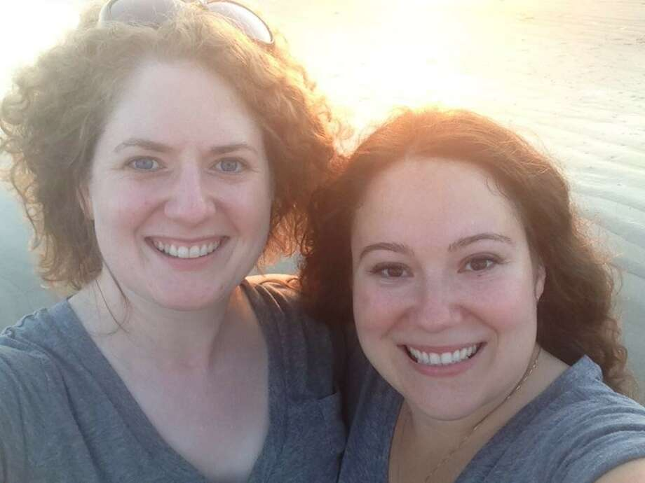 PHOTOS: Houston photographer Alicia Verdier (right) said a prospective client lashed out at her in Facebook messages after learning Verdier was gay. She and her wife (left) have lived in Houston for four years. 