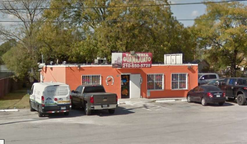 Taqueria Guanajuato: 5567 Randolph Blvd. Date: 01/04/2019 Score: 72 Highlights: Observed employee crack raw shell eggs then proceeded to handle ready-to-eat foods. Cooked and stored foods in walk-in cooler with no date marking. Raw meat being thawed improperly in the kitchen sink and table. T-shirt bags used to store foods. Raw wood in walk-in cooler with mold-like growth on it.