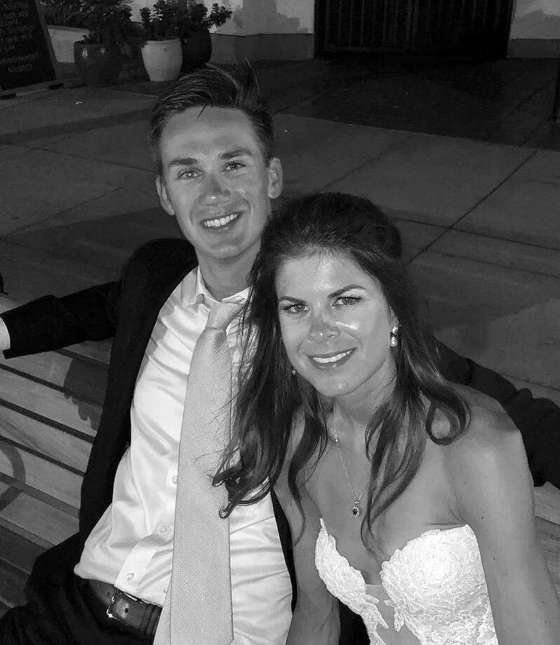 Emily Elizabeth Bigham, of Coronado, Calif., and Matthew James Kleber, of Fairfield, were married Aug. 4. Photo: Contributed Photo