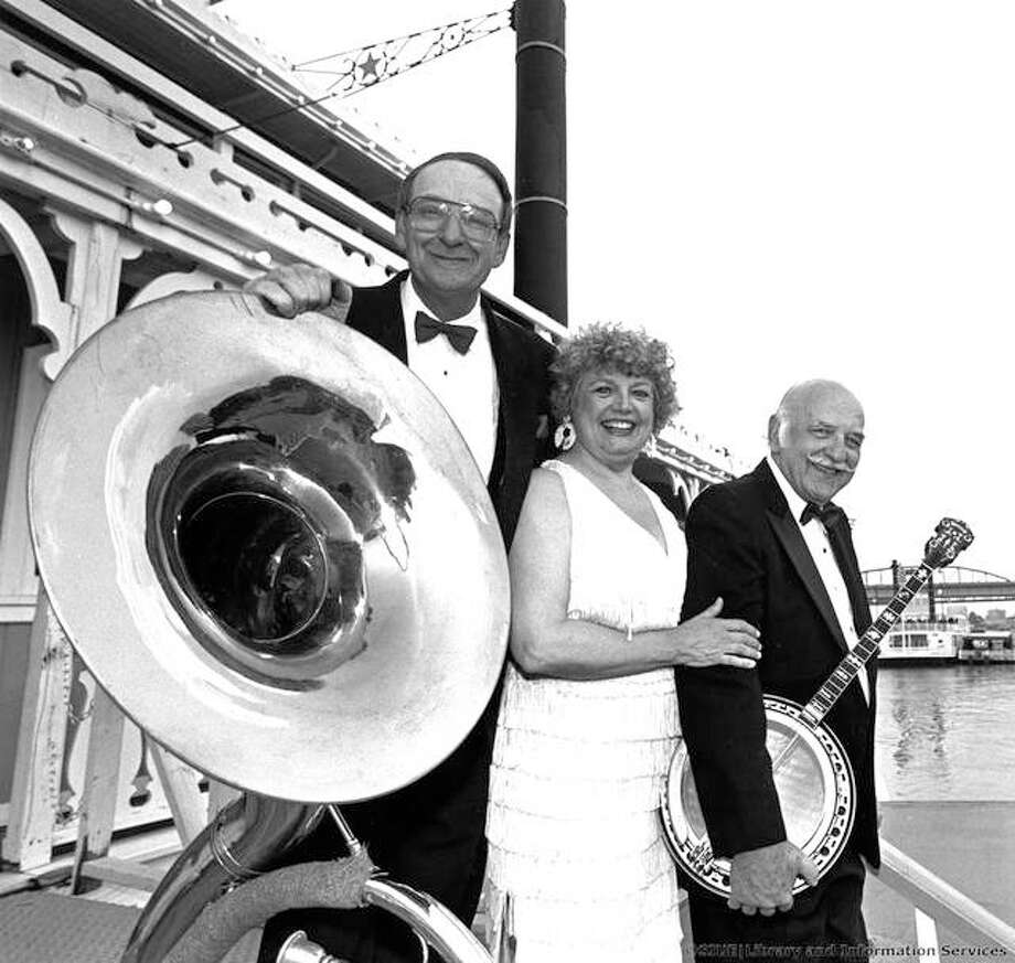 Jean Kittrell, center, on the Robert E. Lee in downtown St. Louis. Photo: For The Intelligencer