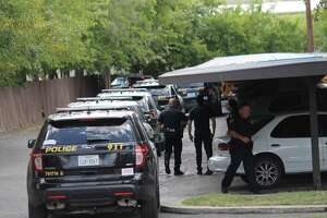 Officers shot at a man who allegedly rushed at them with a knife at the Crestwood Apartments on Aug. 31, 2018.