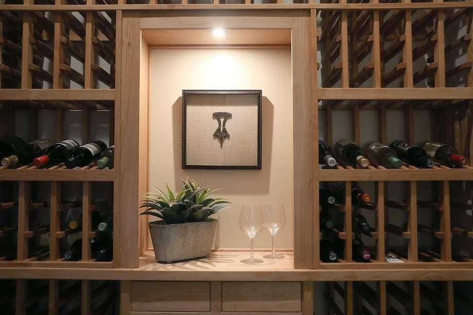 The basement wine cellar. Photo: Liz Hafalia / The Chronicle