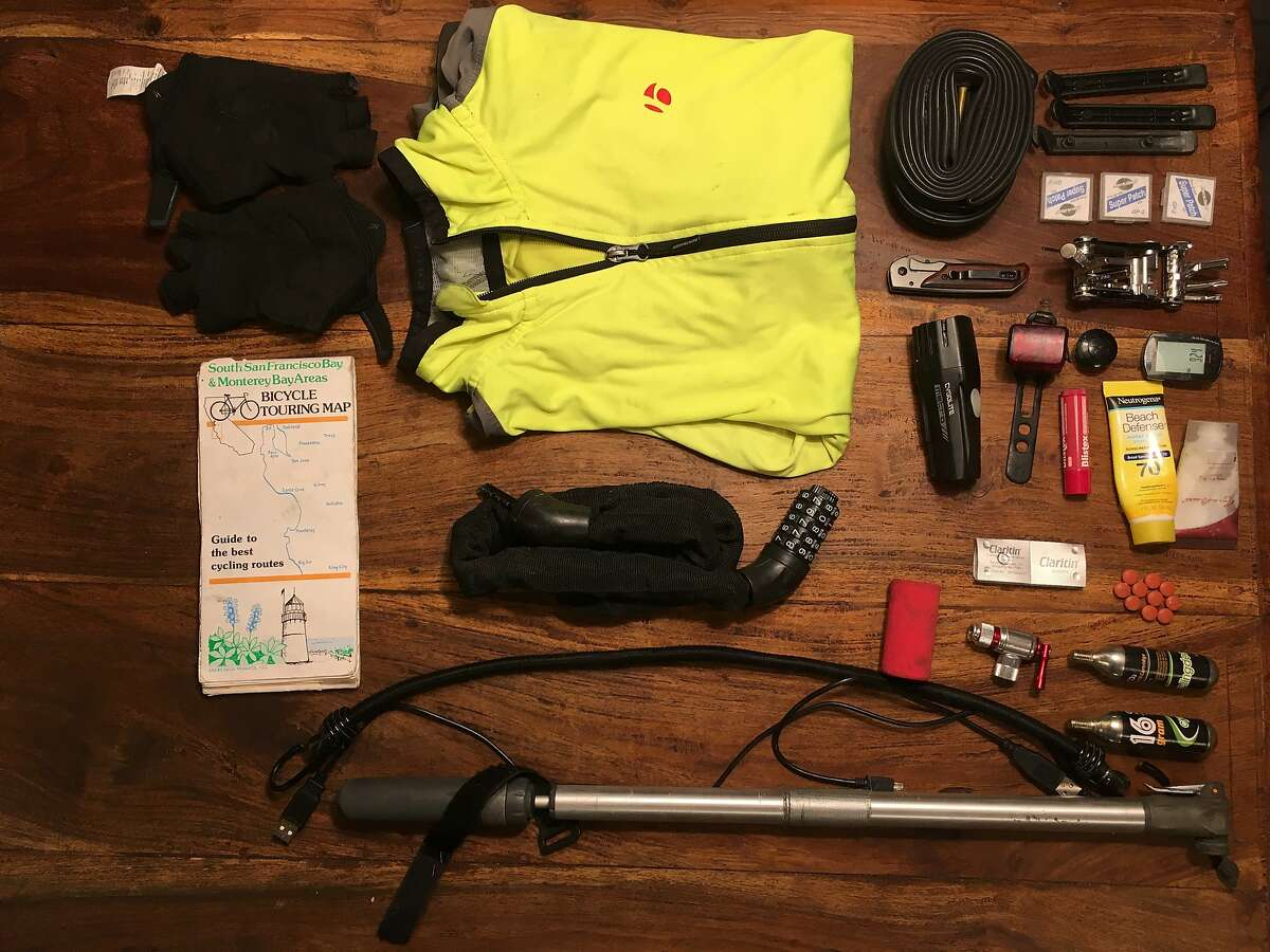 All the gear writers Brian Coyne and Lily Janiak took on their 850-mile bike trip.