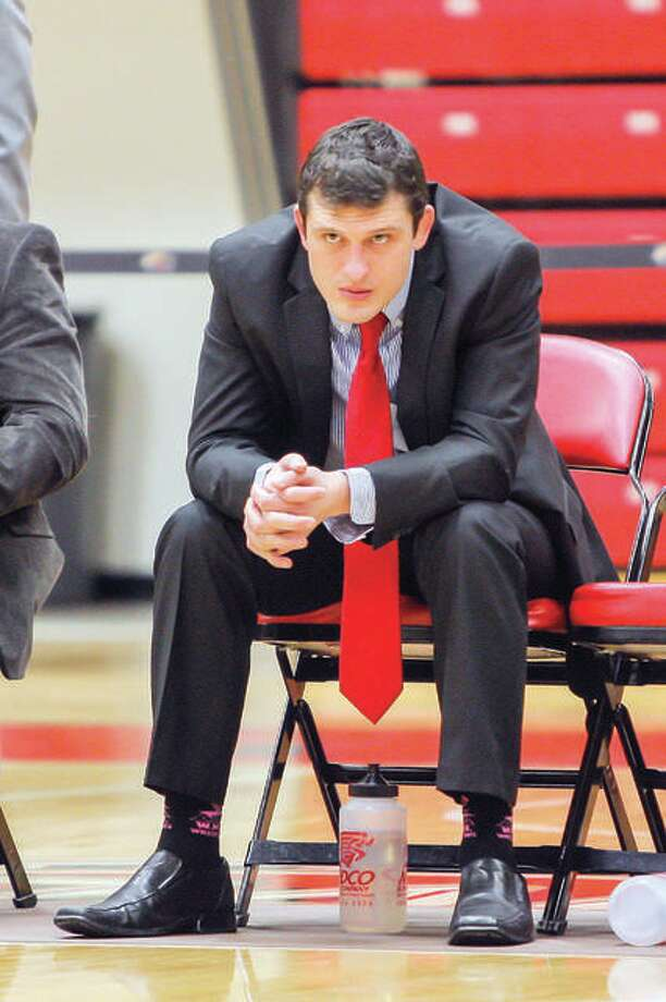 SIUE wrestling coach Jeremy Spates has signed a three-year contract extension. Photo: Scott Kane, SIUE