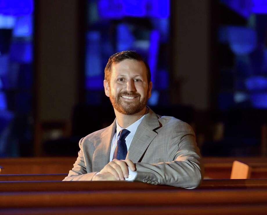 Rabbi Brian Immerman of Congregation Mishkan Israel in Hamden. Photo: Peter Hvizdak / Hearst Connecticut Media / New Haven Register