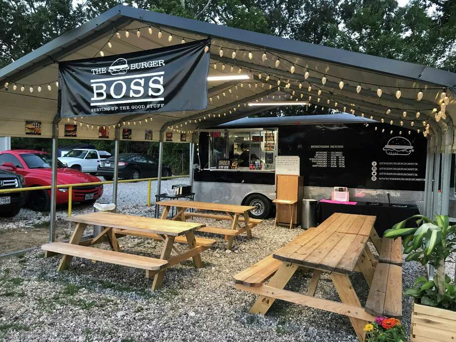 PHOTOS: Houston-area food trucksThe Burger Boss is one of four options at a new food truck park in Porter. >>>See what's available here and at other Houston-area food trucks... Photo: Courtesy: The Food Zone