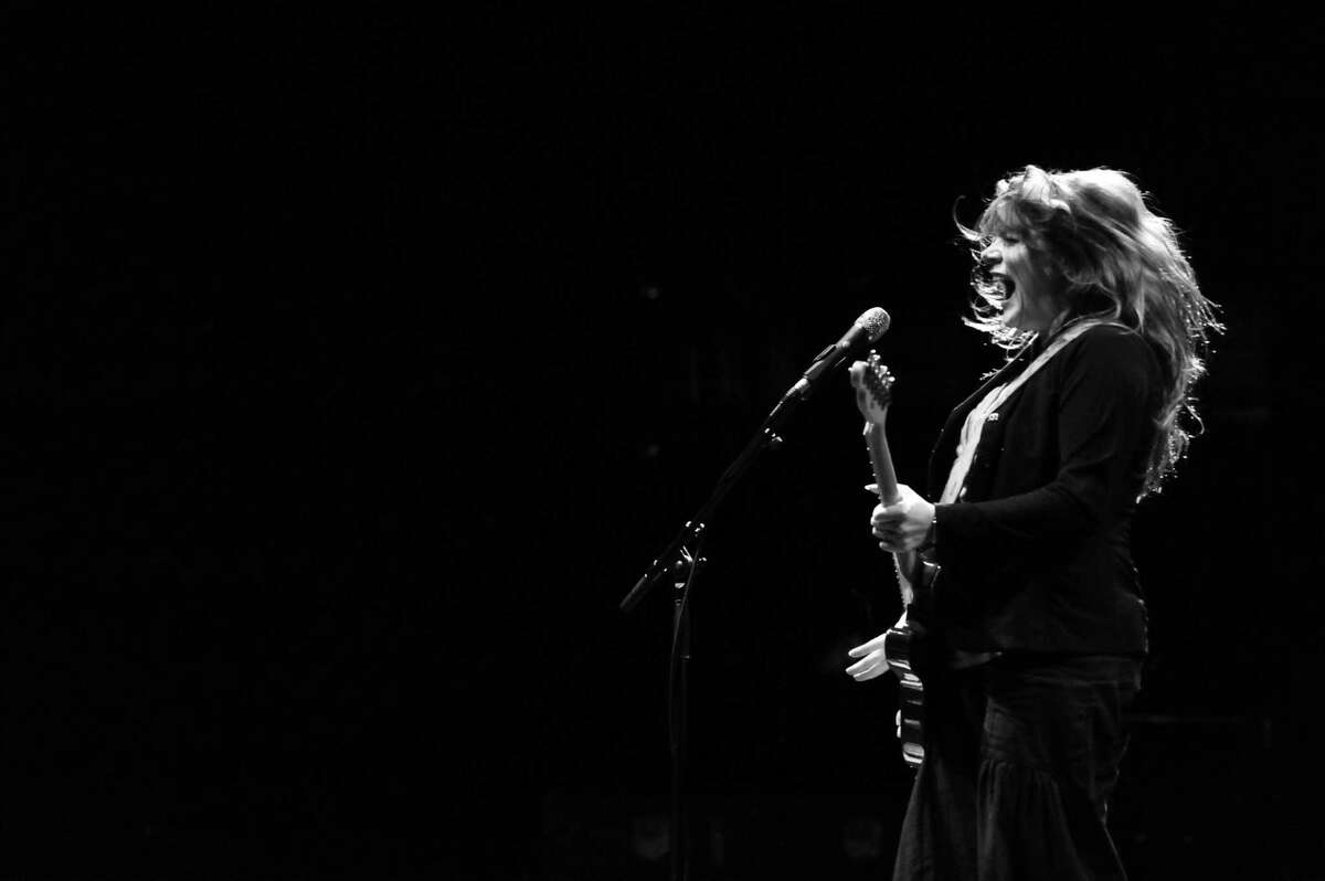 Austin, Texas blues queen Carolyn Wonderland performs at this weekend?'s Blues, Views, and BBQ Festival at the Levitt Pavilion in Westport at 5:30 p.m. on Sunday, Sept. 2.