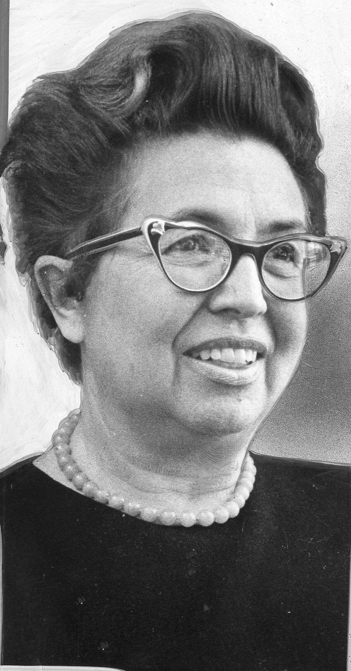 Miriam E. Wolff, San Francisco Port Director, January 27, 1970