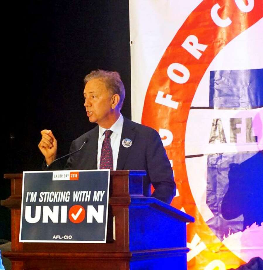 Ned Lamont, Democratic nominee for governor, spoke at a political convention of the Connecticut AFL-CIO at the Hartford Hilton Hotel on Friday August 31, 2018. Photo: Emilie Munson / Hearst Connecticut Media / Connecticut Post