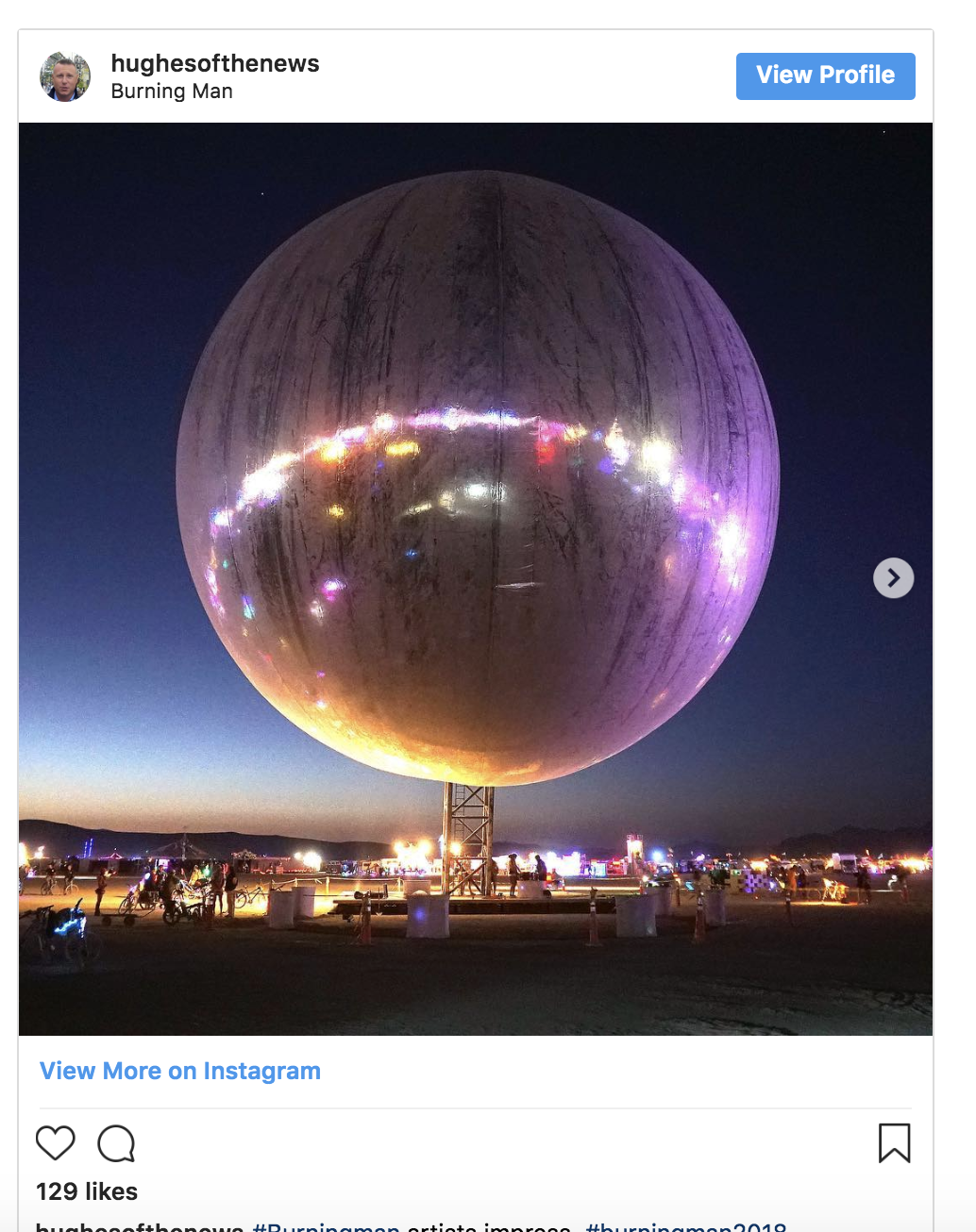 This 100-foot-tall disco ball could be the most impressive artwork at Burning Ma...