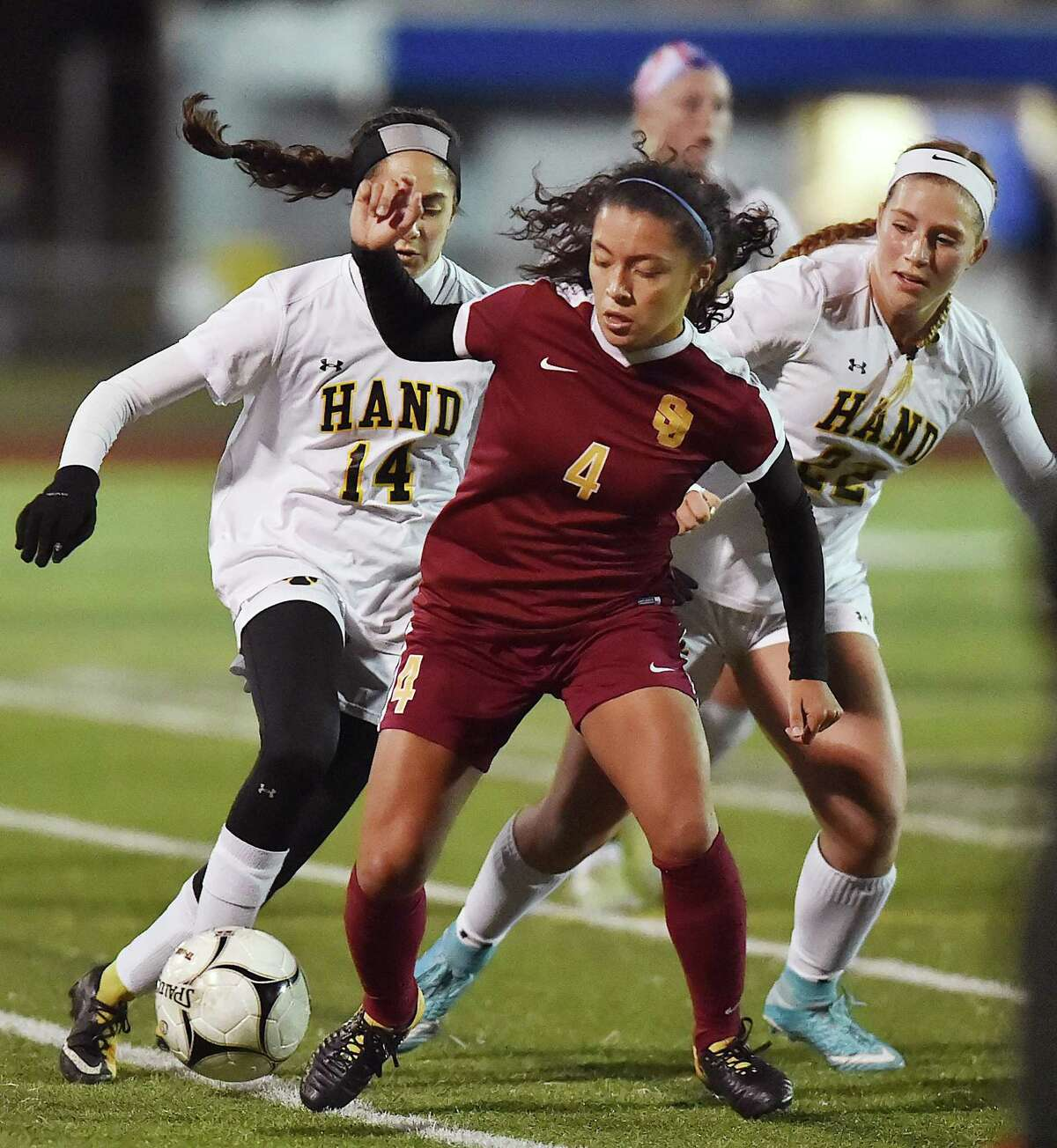 St. Joseph captain Jessica Mazo (4) is back to lead the Cadets.
