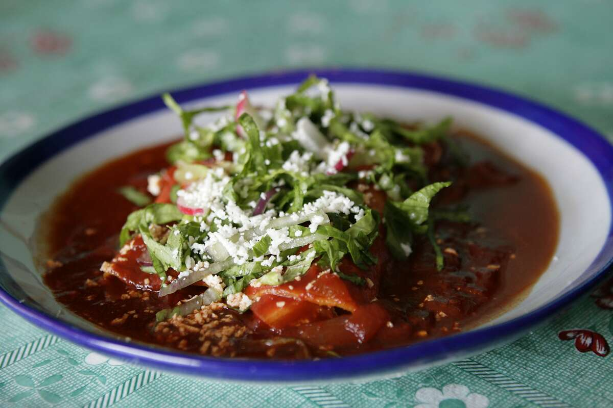 Sylvia's Enchilada Kitchen actualy has two locations. One is located near the Energy Corridor, while the other is located just south of Hunter's Creek Village. ( Meg Loucks / Chronicle )