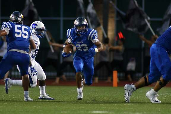 Klein senior running back D'Anthony Simms ran for 76 yards in a loss