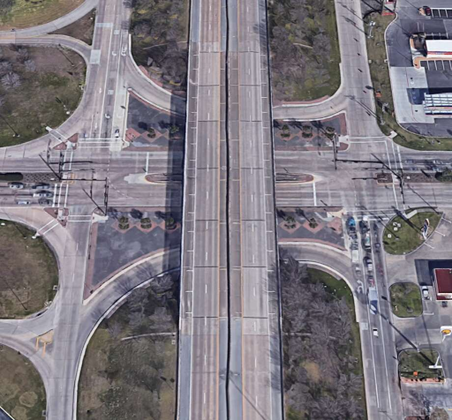 Name: Texas 146 and FM 1764 Number of crashes 2015-17: 67 Number of injuries 2015-17: 6 Why it's an issue: The intersection is a big issue because big things tend to move through it. Texas 146, also 36th Street, averages more than 30,000 vehicles per day, 8.6 percent of them heavy trucks. Photo: Google Maps Streetview