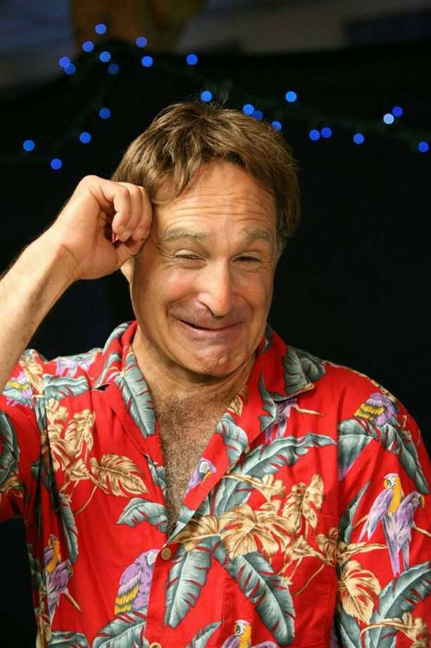 """Roger Kabler stars in """"Robin: The Ultimate Robin Williams Tribute Experience,"""" at Ridgefield Playhouse on Sept. 14. Photo: Legends Of Comedy / Contributed Photo"""