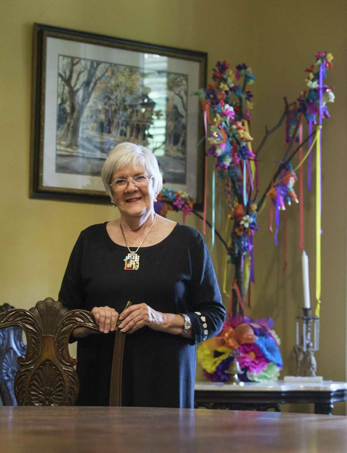 Susan Beavin became president of the San Antonio Conservation Society in 2017.