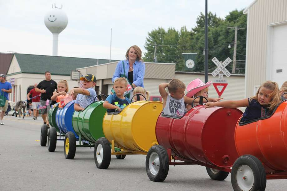 Elkton's annual AutumnFest is officially underway with events such as the .5K Bacon Run and grand parade taking place on Saturday. Other events are planned throughout today and into the festival's conclusion on Sunday. Photo: Bradley Massman/Huron Daily Tribune