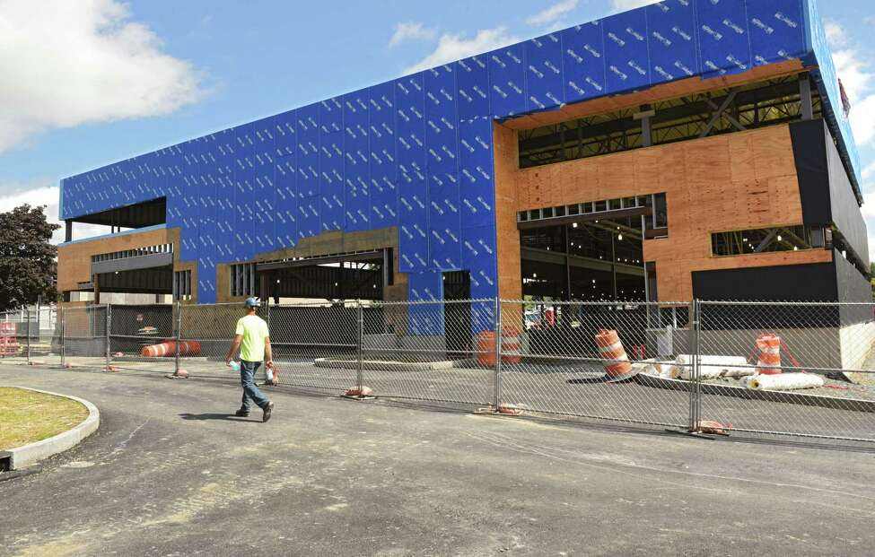 Center For Manufacturing Skills building which is under construction at Hudson Valley Community College on Thursday, Aug. 30, 2018 in Troy, N.Y. (Lori Van Buren/Times Union)
