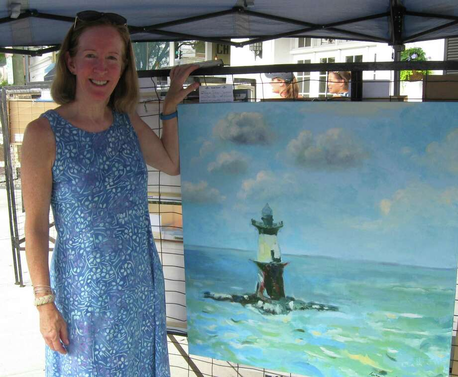 Many talented artists, including Regina Tracy Semmes, show their artwork at the Annual Sidewalk Art Show and Sale sponsored by the Art Society of Old Greenwich. It will be held on Sound Beach Avenue in Old Greenwich on Saturday, Sept. 8, and Sunday, Sept. 9. The hours are 9 a.m. to 5 p.m. both days. Photo: Contributed /