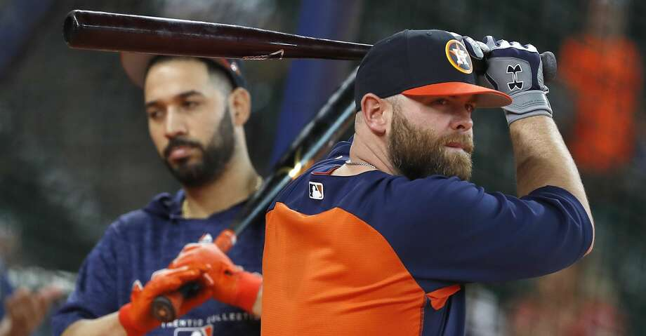 PHOTOS: Astros game-by-game Houston Astros catcher Brian McCann (16) during batting practice before the start of an MLB baseball game at Minute Maid Park, Saturday, September 1, 2018, in Houston. Browse through the photos to see how the Astros have fared in each game this season. Photo: Karen Warren/Staff Photographer