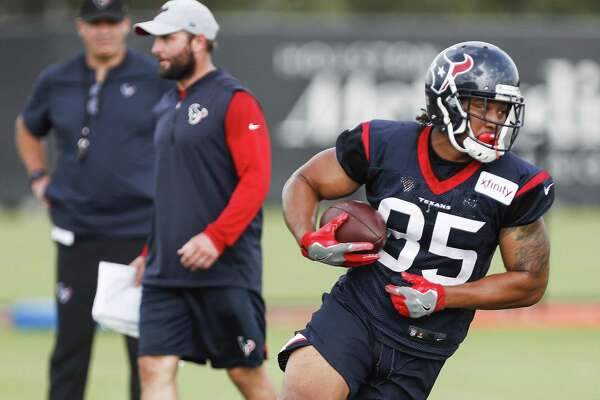 new style 0c296 e701f Texans sign TE MyCole Pruitt to practice squad - SFChronicle.com