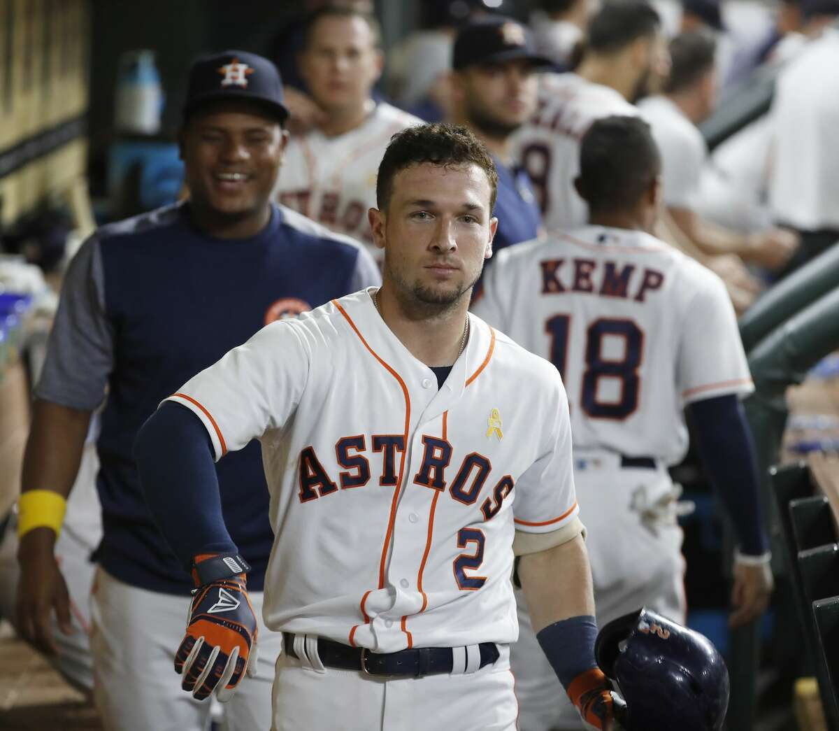 From making the dugout camera stare his calling card to his on-field success, 2018 was quite the memorable season for Alex Bregman.