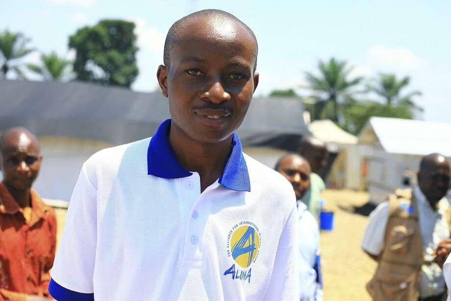 Dr. Maurice Kakule Muchunga recovered from Ebola infection after receiving a new treatment. Photo: Al-Hadji Kudra Maliro / Associated Press