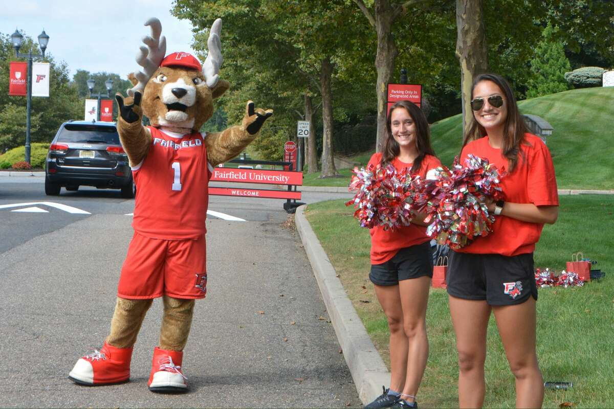 Fairfield University students moved onto campus Labor Day weekend, 2018. Were you SEEN?