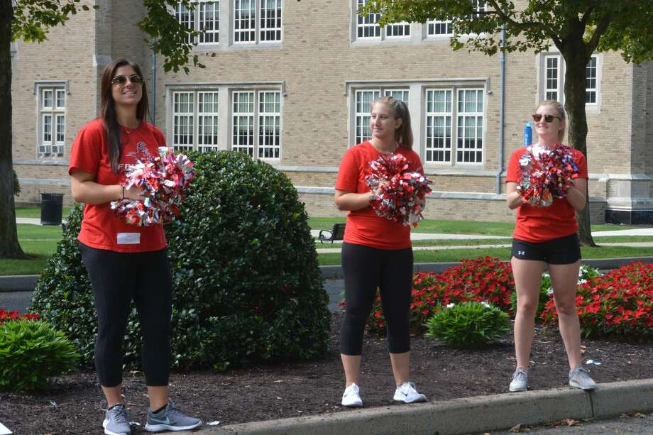 Fairfield University students moved onto campus Labor Day weekend, 2018. Were you SEEN? Photo: Vic Eng / Hearst Connecticut Media Group