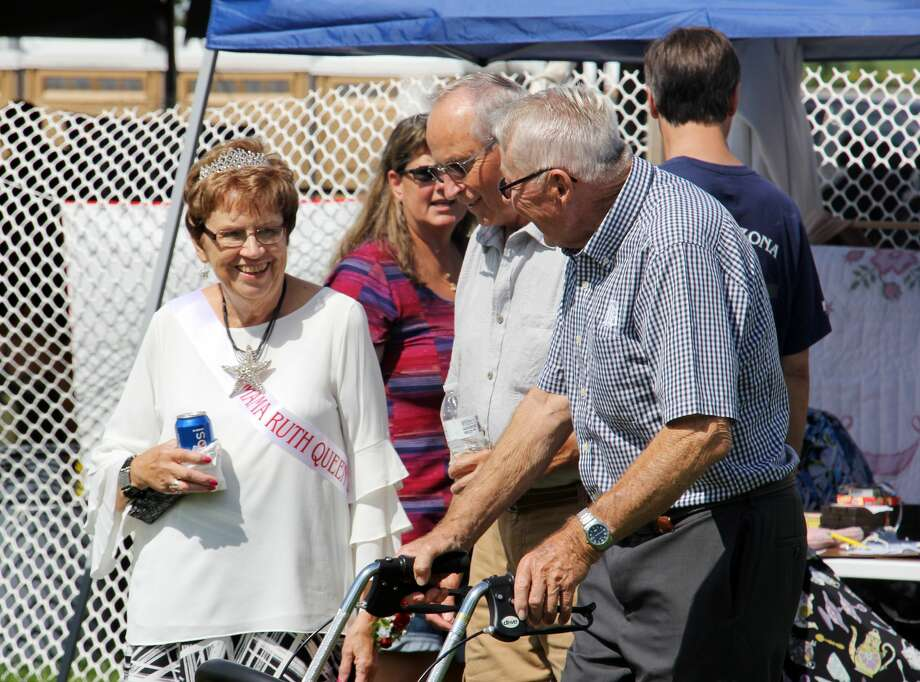 These are scenes from the annual Mama Ruth Festival on Sunday. Photo: Bradley Massman/Huron Daily Tribune