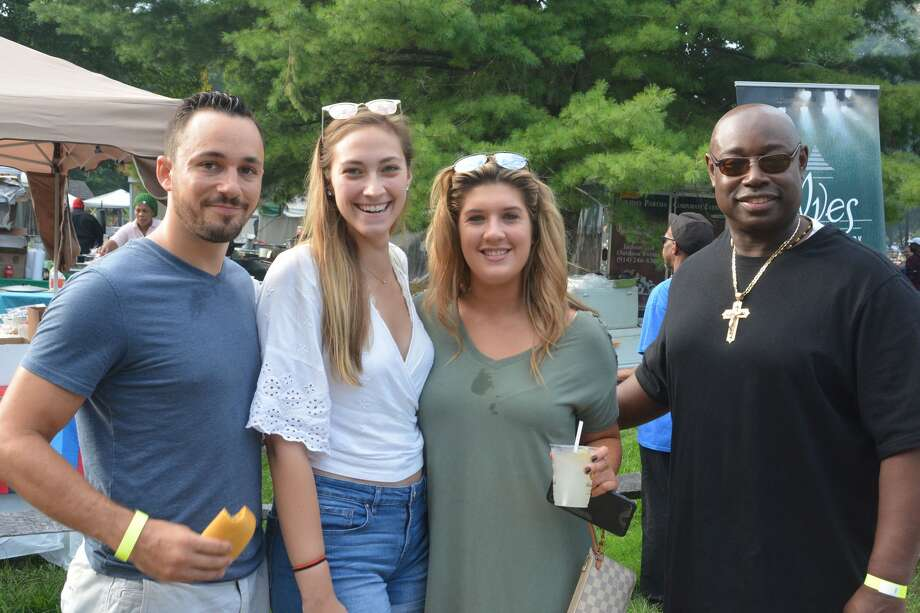 The annual Caribbean Jerk Festival was held at Ives Concert Park in Danbury on September 2, 2018. Attendees enjoyed Caribbean cuisine, live music, games for kids, face painting and bounce houses. Were you SEEN? Photo: Vic Eng / Hearst Connecticut Media Group