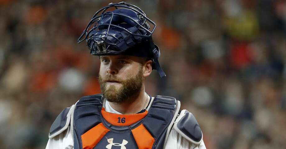 PHOTOS: Astros game-by-game Houston Astros catcher Brian McCann (16) during the first inning of an MLB baseball game at Minute Maid Park, Saturday, September 1, 2018, in Houston. Browse through the photos to see how the Astros have fared in each game this season. Photo: Karen Warren/Staff Photographer