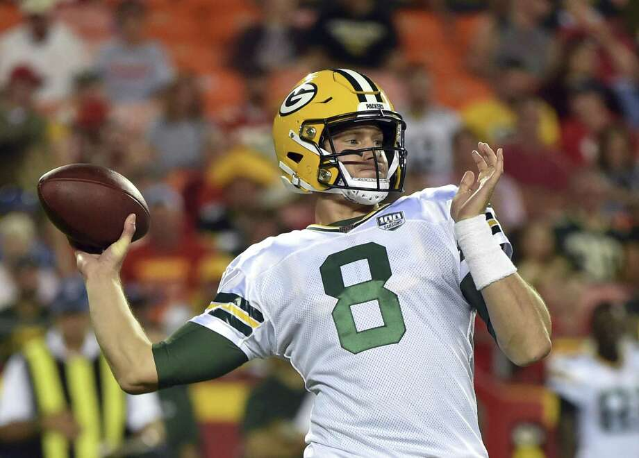 Xavier grad Tim Boyle found out on Saturday that he had earned a spot on the 53-man roster for the Green Bay Packers as a backup quarterback. Photo: Ed Zurga / Associated Press / Copyright 2018 The Associated Press. All rights reserved