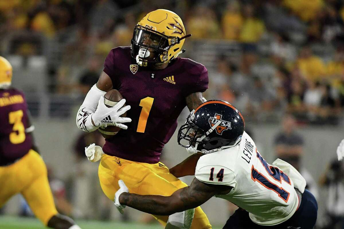N'keal Harry, Arizona State  The Seahawks haven't had luck with big-bodied receivers in the last year; the Brandon Marshall experiment didn't work out -- the veteran was released by the team last October -- and Super XLV champion Jordy Nelson, who Seattle general manager John Schneider grew an affinity toward in his time with the Green Bay Packers, decided to retire. Maybe the 6-foot-2, 228-pound Harry, out of Arizona State, could be the answer? He delivered some of college football biggest plays in 2018, including several off-balance, one-handed catches. He thrives in catching contested balls. A two-time first-team All-Pac 12 selection, Harry posted back-to-back 1,000-yard seasons for the Sun Devils.