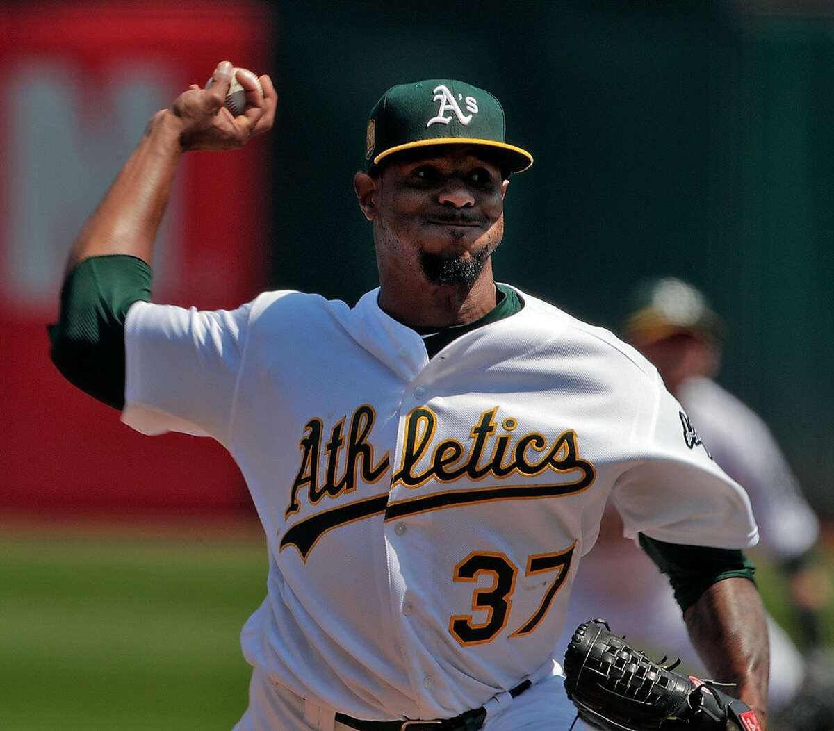 Fluky pitching Here's one way to look at it: the A's pitching was pretty good last year. Their 3.82 team ERA ranked 11th-best in all of baseball, led by a stalwart bullpen and a rotation that hung in there despite suffering injury after injury. Here's another way to look at it: the A's pitching was really lucky. The pitching metric FIP strips out events that are subject to luck and isolates the events over which pitchers have the most control: home runs, strikeouts, and walks. The A's 4.18 FIP ranked 20th-best, a far-cry from their above-average ERA. Edwin Jackson, who somehow threw 92 innings for the A's in 2018, managed a 3.33 ERA despite his 4.65 FIP. Performances like Jackson's are statistically unlikely to repeat themselves in 2019.