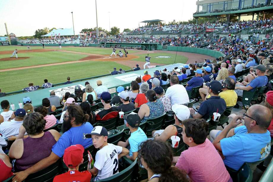 Fans watch the action as the Missions host Frisco at Wolff Stadium on August 24, 2018. Photo: Tom Reel, Staff / Staff Photographer / 2017 SAN ANTONIO EXPRESS-NEWS
