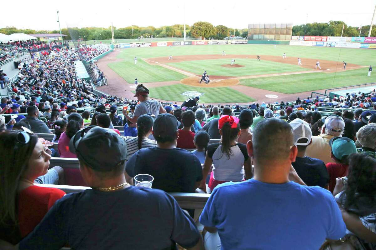 Fans relax and watch the action as the Missions host Frisco at Wolff Stadium on August 24, 2018.