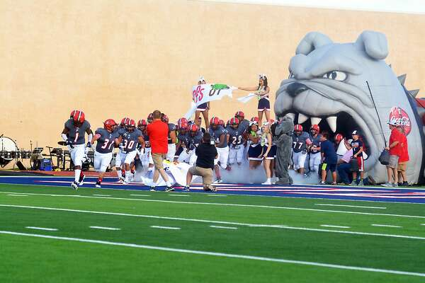 The Plainview Bulldogs football team played the Levelland Lobos in the season home opener on Friday at Greg Sherwood Stadium. The Lobos won, 36-0.