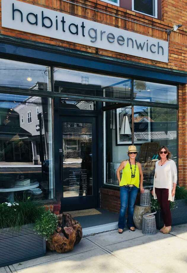 Habitat Greenwich, a specialty boutique in Cos Cob, will donate a percentage of its September sales to The Willow Project, says Habitat founder, Kim Caravella, left, and Creative Director, Nicole Gannon. The Willow Project harnesses the power of community to provide support for local families battling childhood cancer. Photo: Contributed /