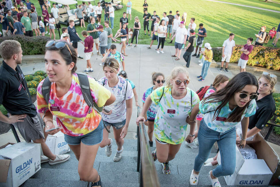 Were you Seen on move-in day at Union College in Schenectady on Sunday, Sept. 2, 2018?