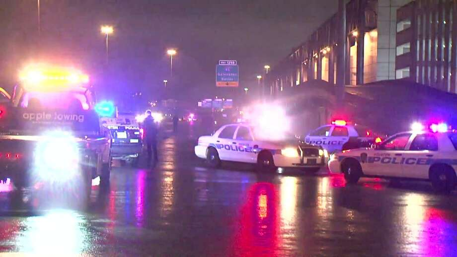 Houston Police Officials Report A Woman Waby A Car And Killed On The Elevated