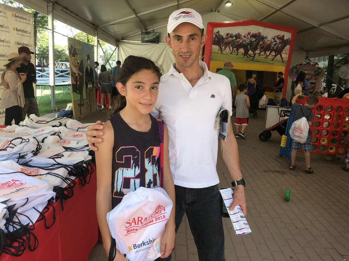 Were you Seen during the Berkshire Bank & Hannaford Supermarkets Backpack Giveaway at Saratoga Race Course on Monday, September 3, 2018?