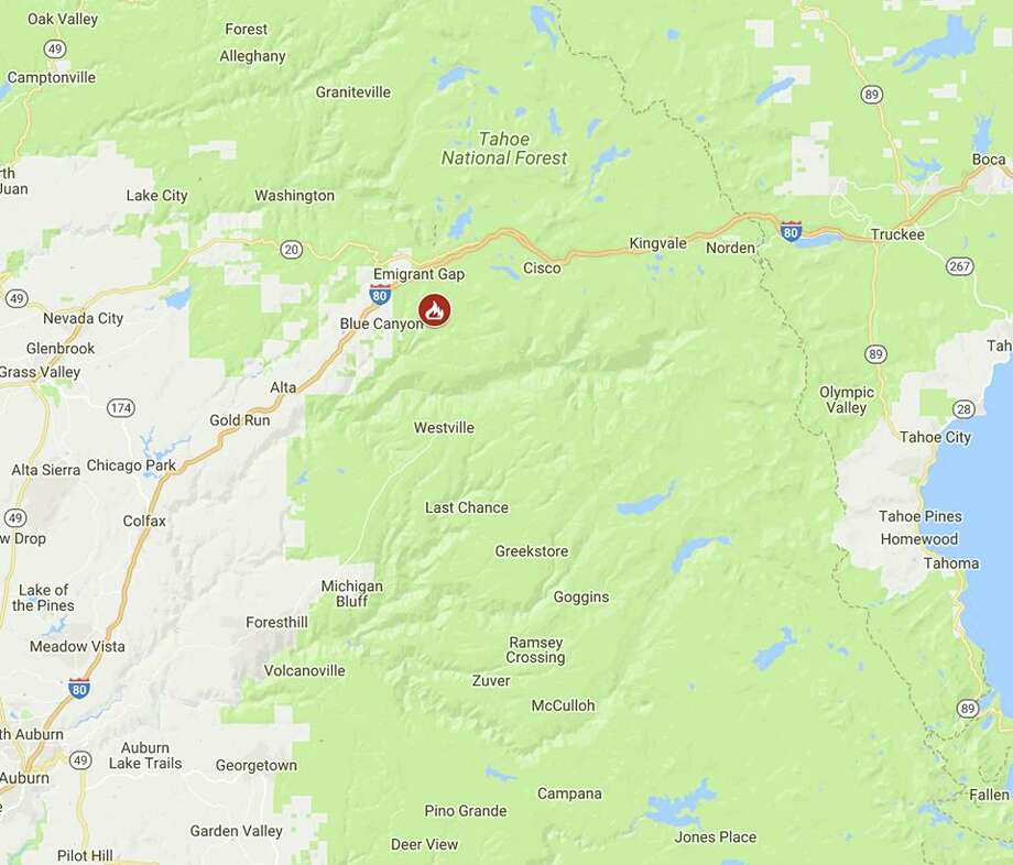 Holiday Acres Camping Resort: Wildfire Forces Evacuations In Tahoe National Forest