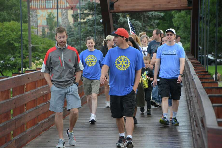 A scene from the Labor Day Tridge Walk on Monday, Sept. 3, 2018 in Midland. Photo: Photo Provided/P3 Images